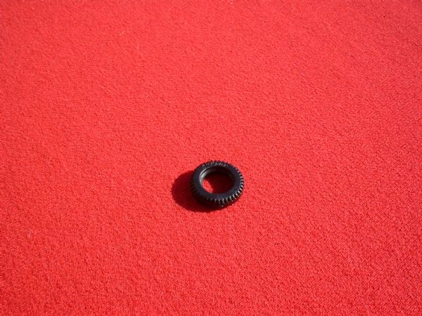 "15mm Black Treaded ""DUNLOP"" for French Dinky Toys Tyre (Each)"
